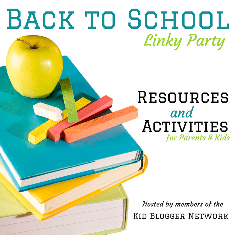 Back to School Activities and Resources hosted by the Kid Blogger Network