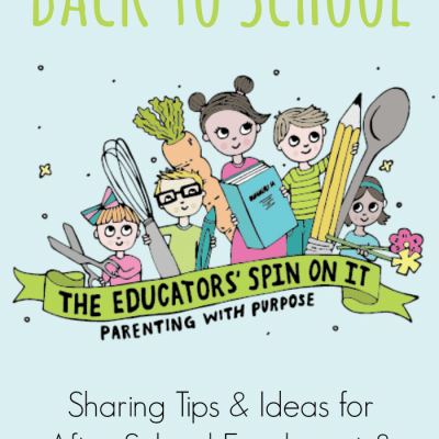 Back to School Activities for School Ages