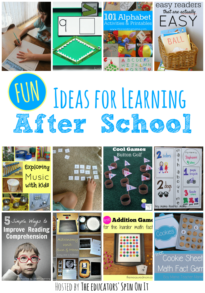 Fun Ideas for Learning After School with Kids