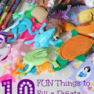 10 Things To Put In A Children's Piñata – That Are NOT Candy!