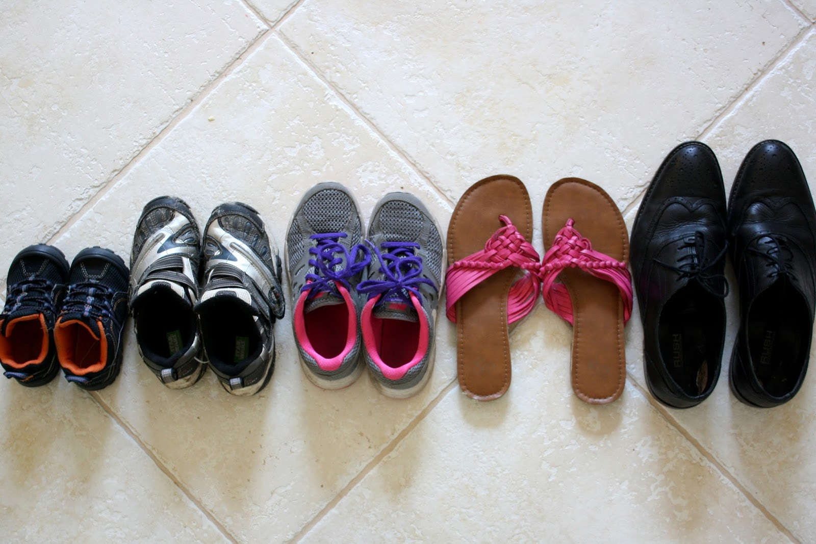 Preschool Real Life Math Lesson: Ordering Shoes By Size