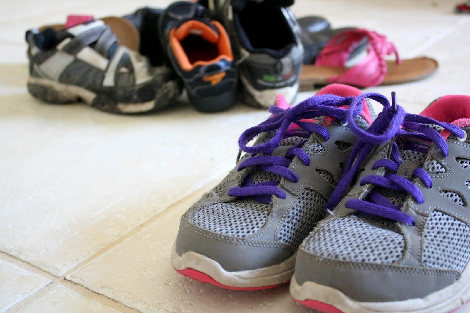 Preschool Activity: Shoe Sort