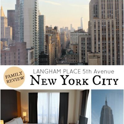 Family Review of Langham Place New York on 5th Avenue