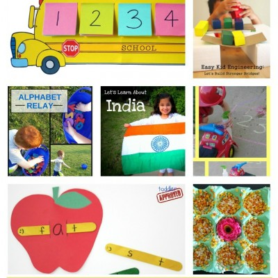 Preschool Learning Activities: Weekly Lesson Plan