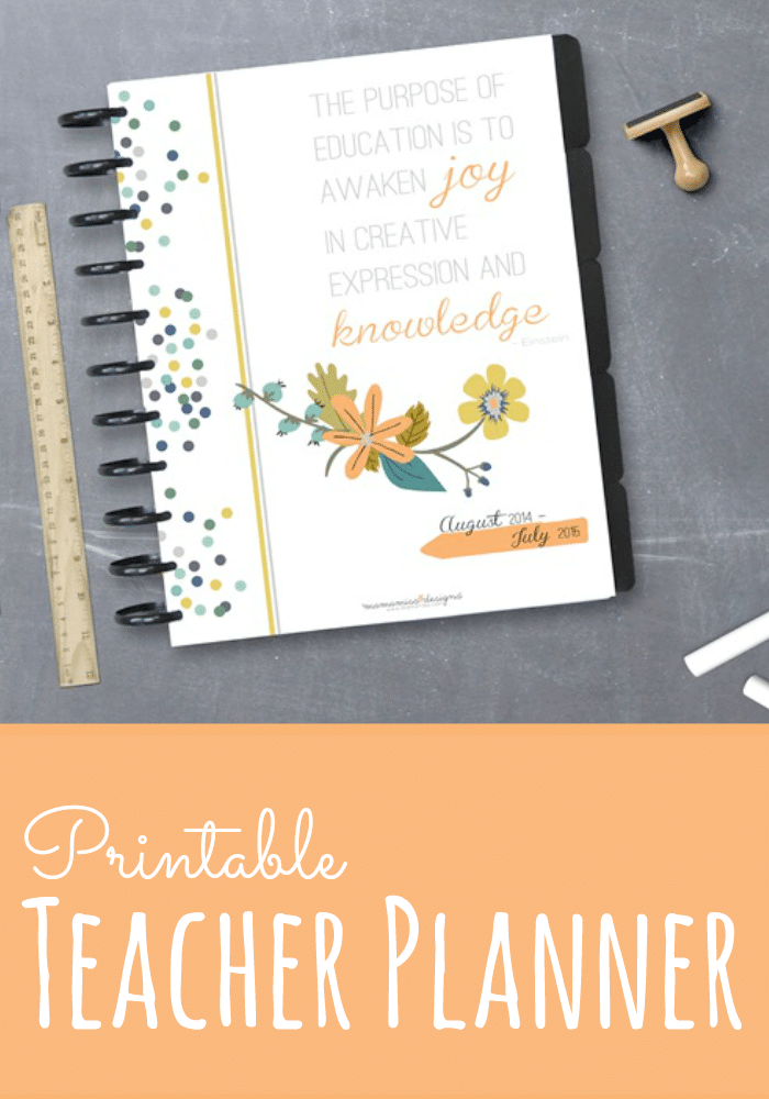 Printable Teacher Planner from Mama Miss