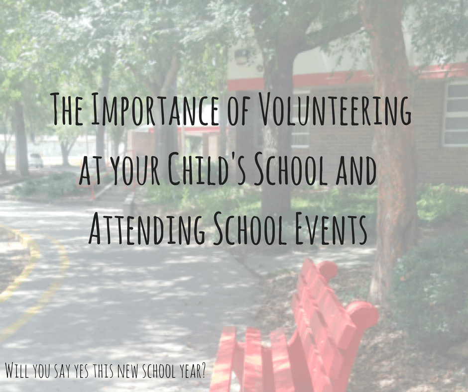 The importance of volunteering at your child's school and attending school events by Kim Vij