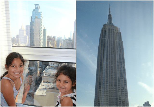 Family Review of Langham Place on Fifth Avenue in New York City with Empire State Building