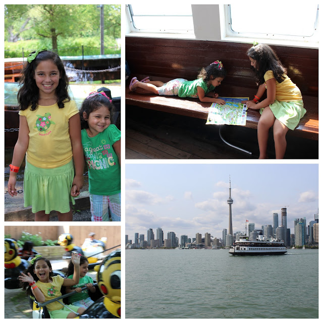 Visiting Toronto with Kids at Centreville