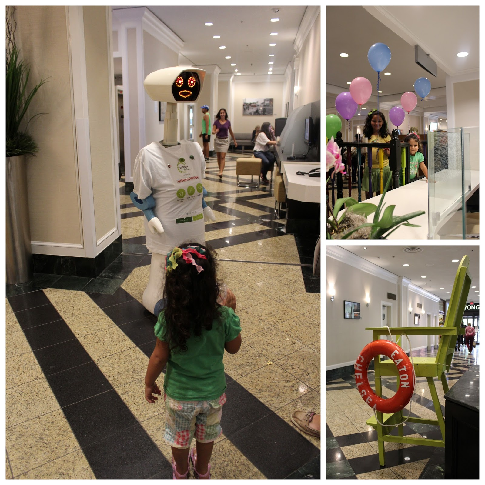 Kid Friendly Check In Experirence At Eaton Chelsea Hotel Toronto