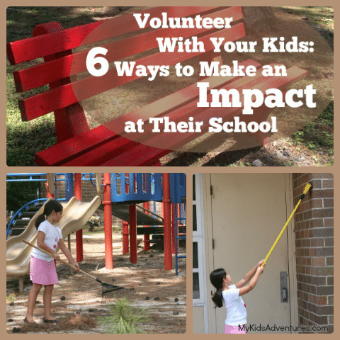 6 Ways to Make a Big Impact at your child's school Volunteering