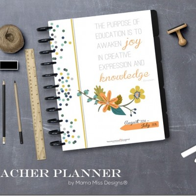 Printable Teacher Planner