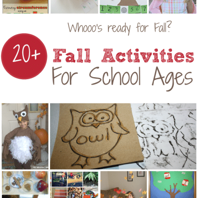 Fall Activities for Kids After School