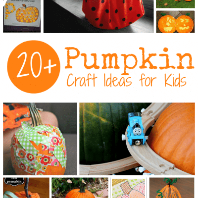 20+ Pumpkin Craft Ideas for Kids