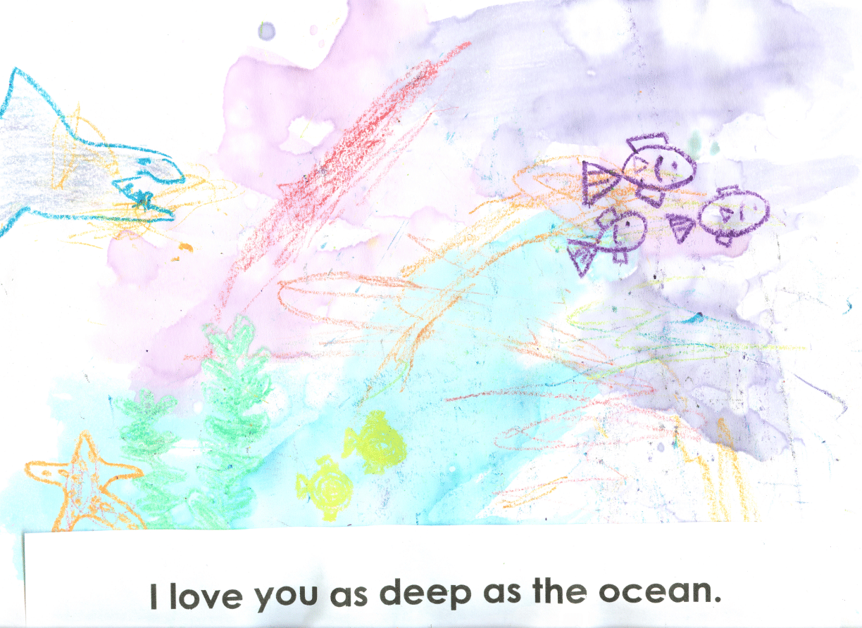 I love you as deep as the ocean