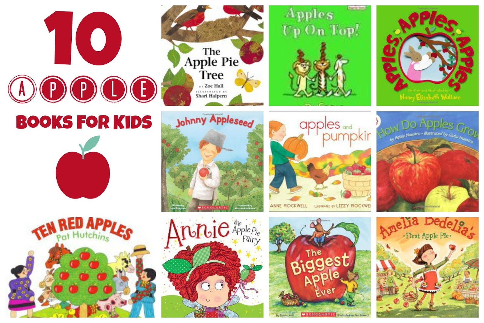 Preschool Apple Theme Activities and Books