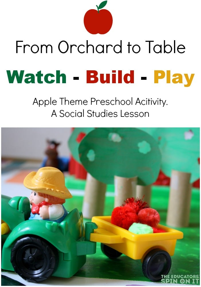 Hands-On Preschool Apple Theme Activities for Teachers and ...