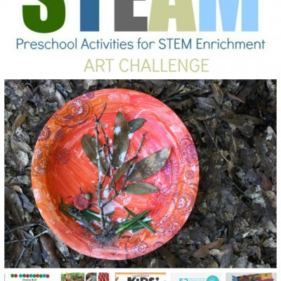 STEAM Preschool Art Challenge: Fall Bug Habitat