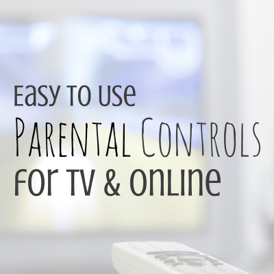 Using Parental Controls on TV and Online