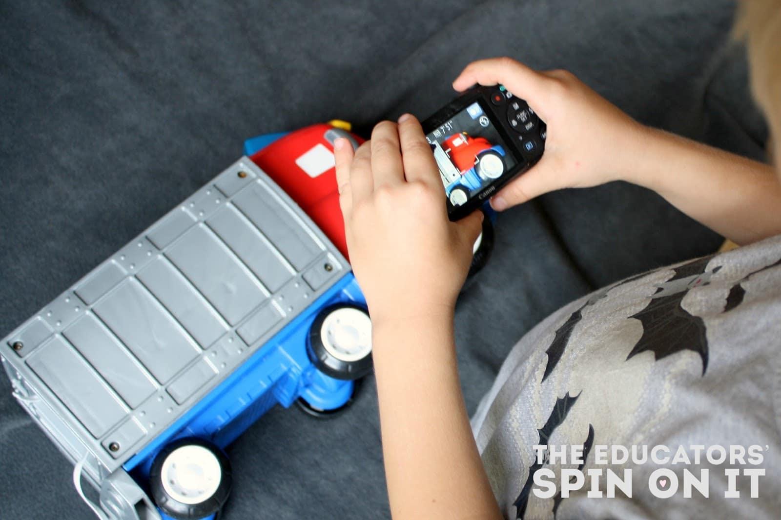 Preschool Technology: Using a Digital Camera to enhance preschool mathematics and literacy