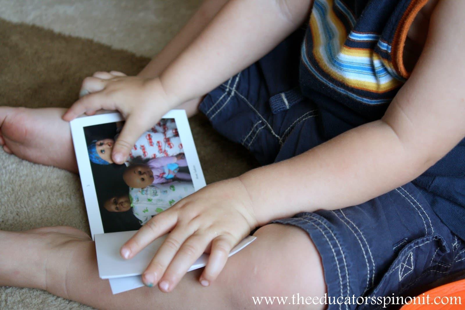 Reading a kid-created digital math book