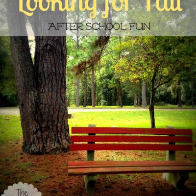 Looking for Fall with Kids with Fall Journal and Observation Sheet
