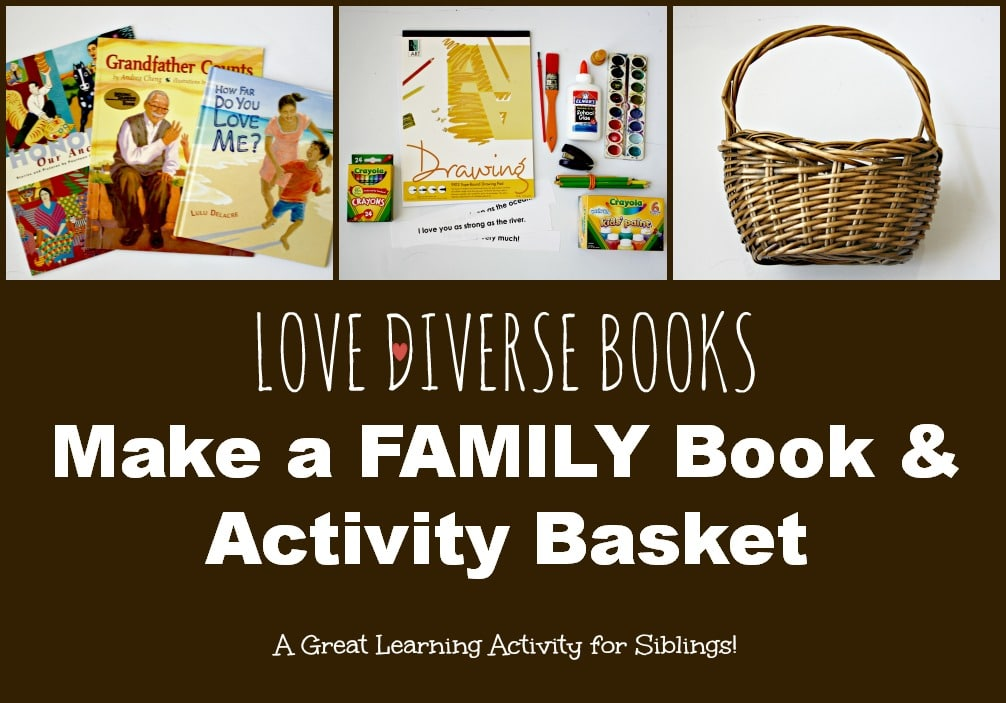 Make a Family Book Basket: Love Diverse Books