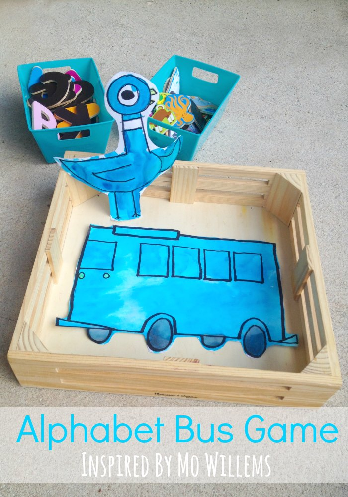 Pigeon and Bus Activities inspired by Mo Willems Alphabet Game
