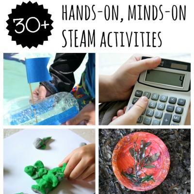 STEAM, Preschool Activities for STEM Enrichment E-Book and FREE E-Course
