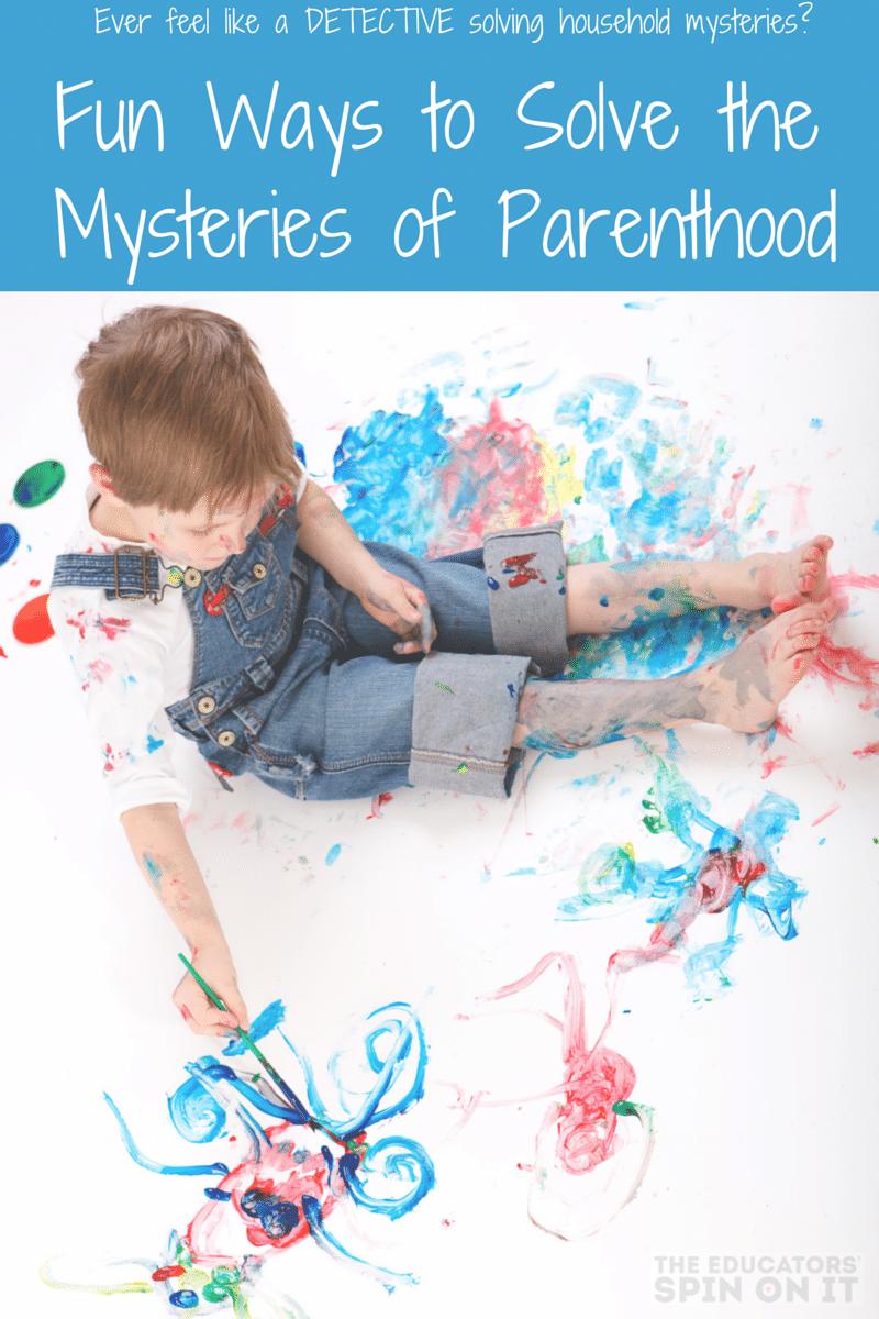 Solving the Mysteries of Motherhood inspired by #MysteriesofLaura