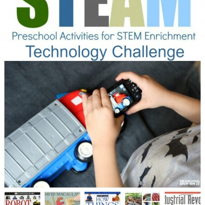 Preschool Technology Challenge and Tips: Week 2 of STEAM E-Course for Parents and Teachers