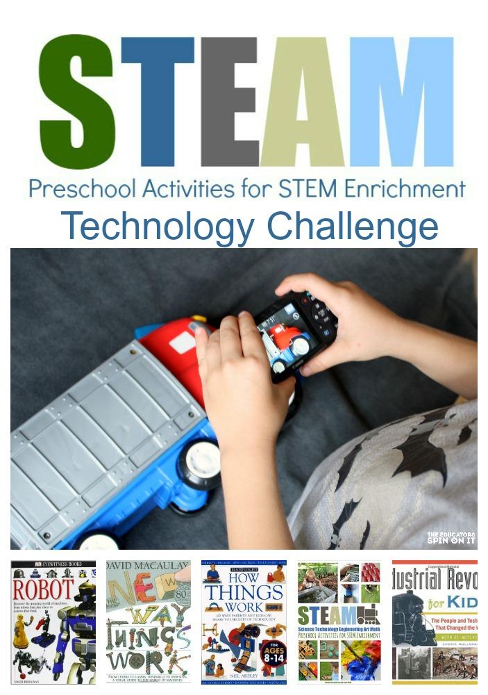 STEAM Preschool Activities for STEM Enrichment Technology Challenge