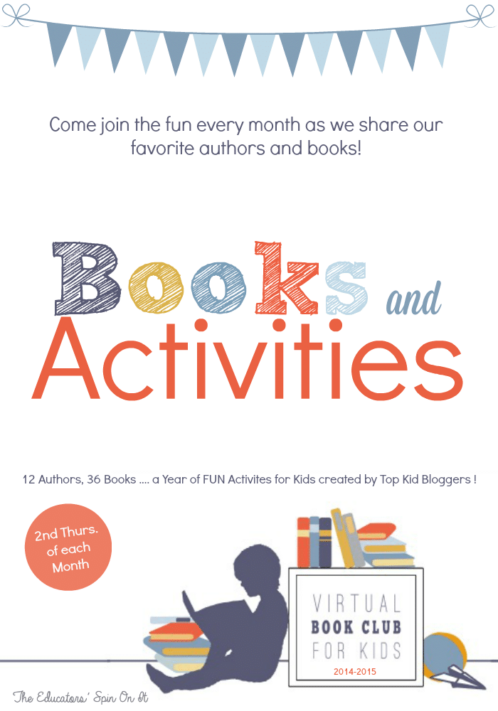 Books and Activities for Kids featured at the Virtual Book Club for Kids