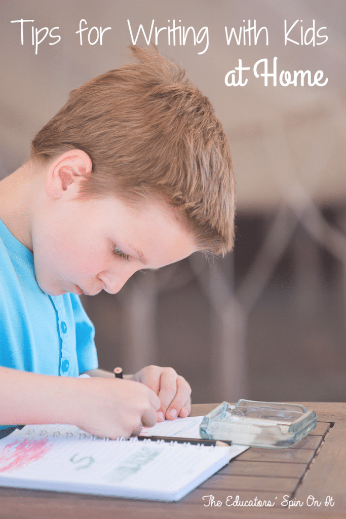 Tips for Writing with Kids at Home