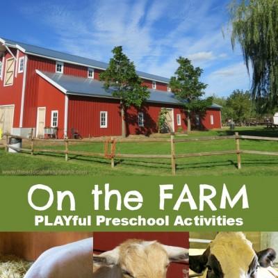 Preschool Activities Farm Theme: Make a Mystery Animal Book