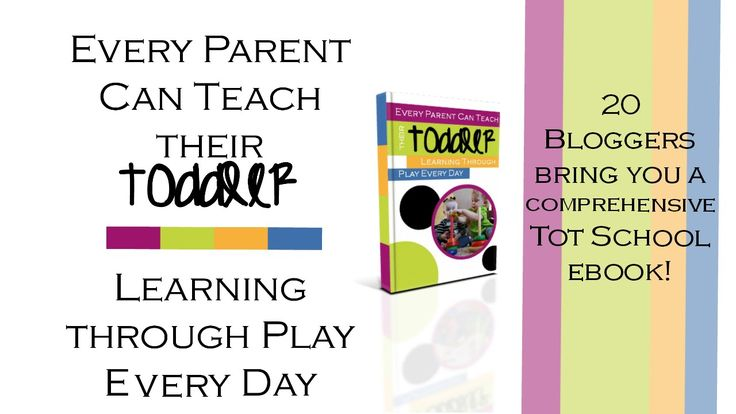 Every Parent Can Teach Their Toddler Ebook