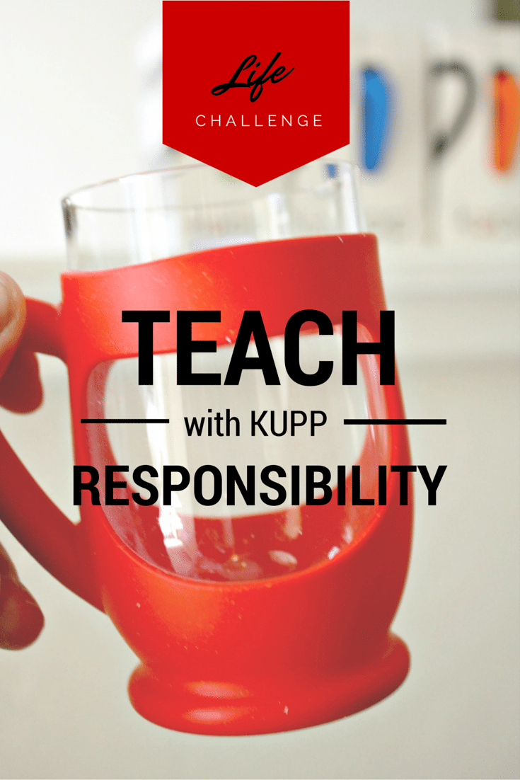 KUPP Review and Teaching Kids Responsibility for their own belongings