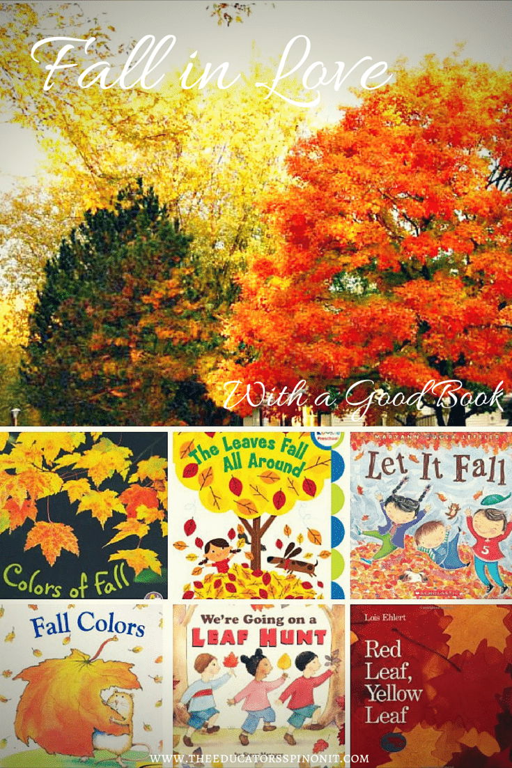 Fall in love with a good fall color preschool book