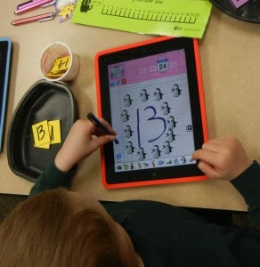 using technology stations to re-inforce preschool academics