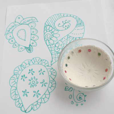 DIY Stamps with Designs from India