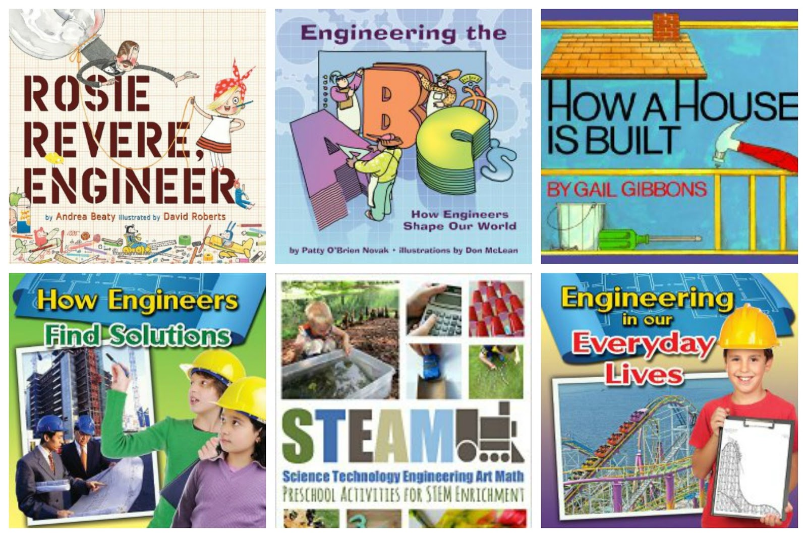 Preschool Engineering Books for parents and children