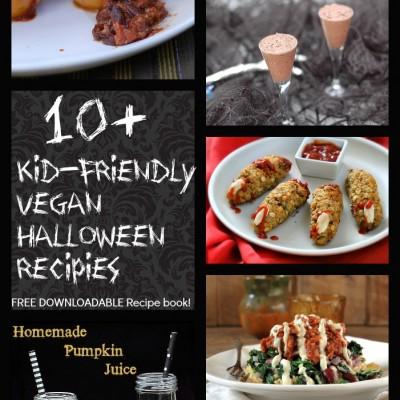 10+ Kid-Friendly Vegan Halloween Recipes