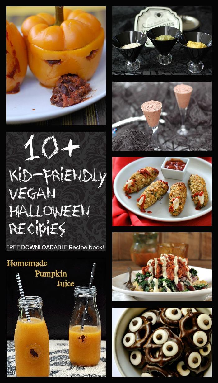 10 kid friendly vegan halloween recipes the educators for Easy kid friendly halloween treats