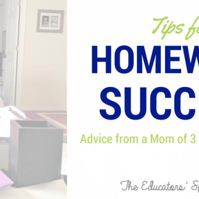 Tips for Homework Success for Kids