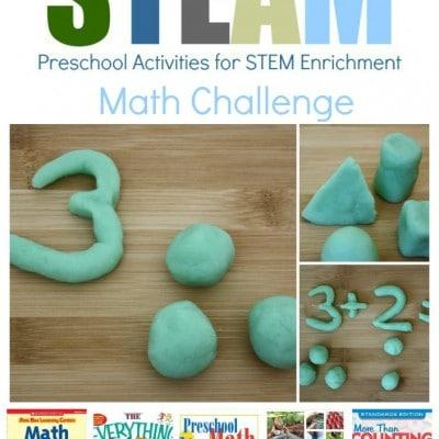 Preschool STEM Activity: Math Challenge