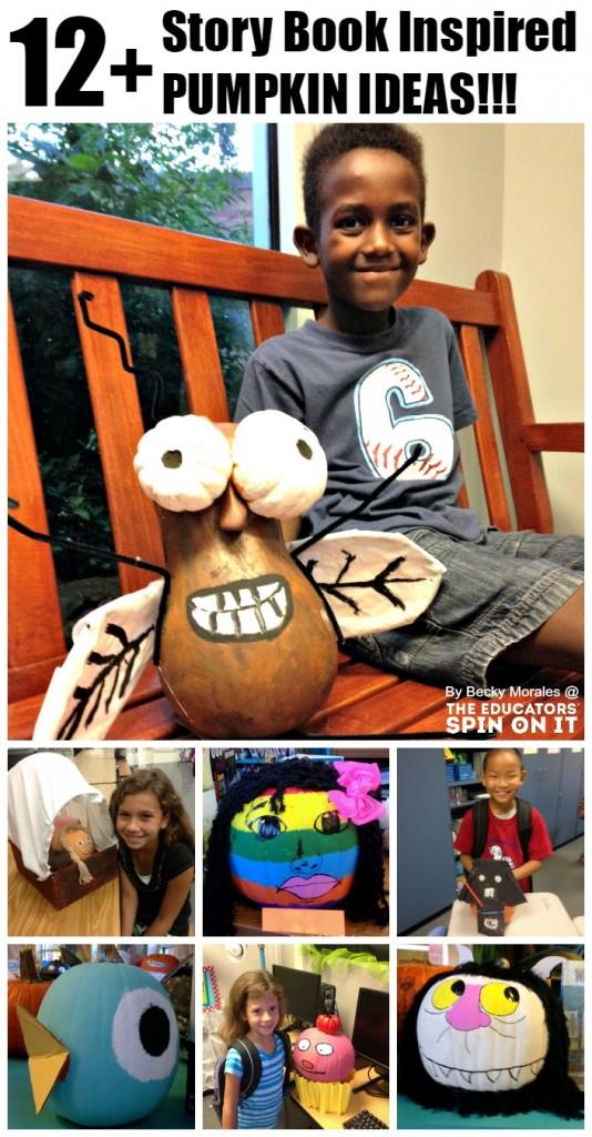 Pumpking Literacy Ideas for Kids for Halloween