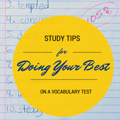 Vocabulary Words Study Tips and Tricks: Acing Your Vocabulary Test