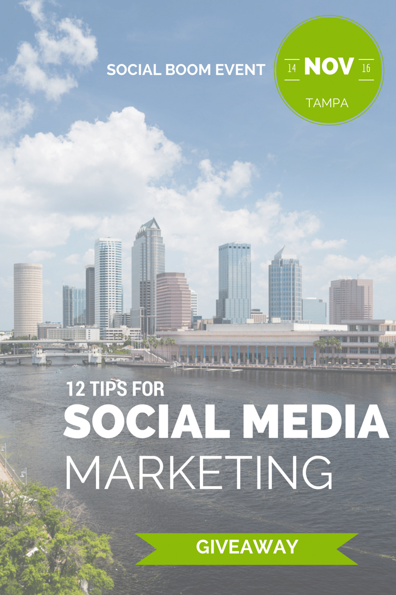 Social Boom: A place to learn from the industries leading experts in Social Media Marketing {Giveaway}