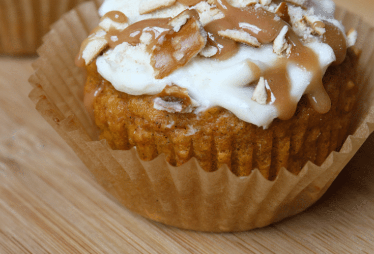 Salted Caramel Pumpkin Muffins – A Healthier Sweet Treat!