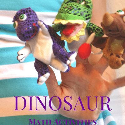 Dinosaur Activities for Preschool: Math Play and More!