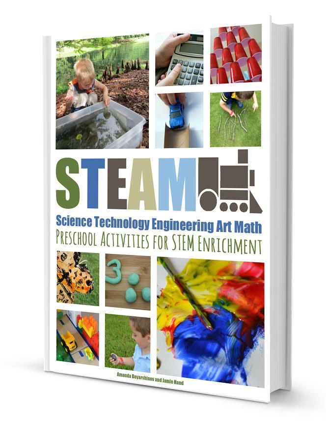 STEAM activities for preschoolers E-book